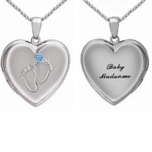Madaame Baby Heart Locket Pendant