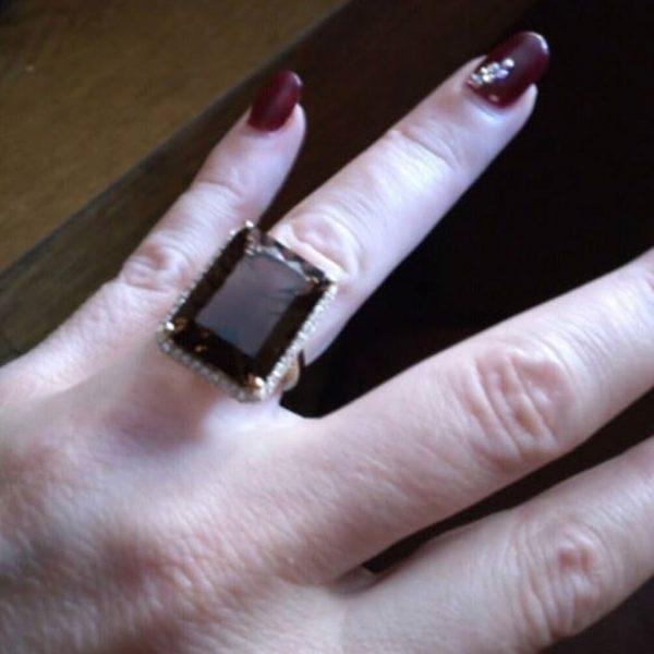 14K Gold Engagement Diamond Ring