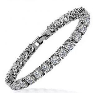 Round Diamond Bangles Bracelet
