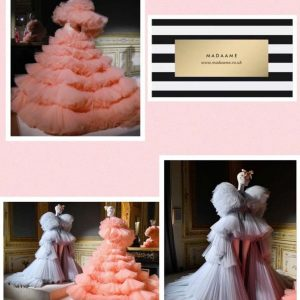 Haute Tulle Couture Prom Dress