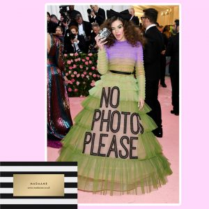 No Photos Please Haute Couture fashion Dress