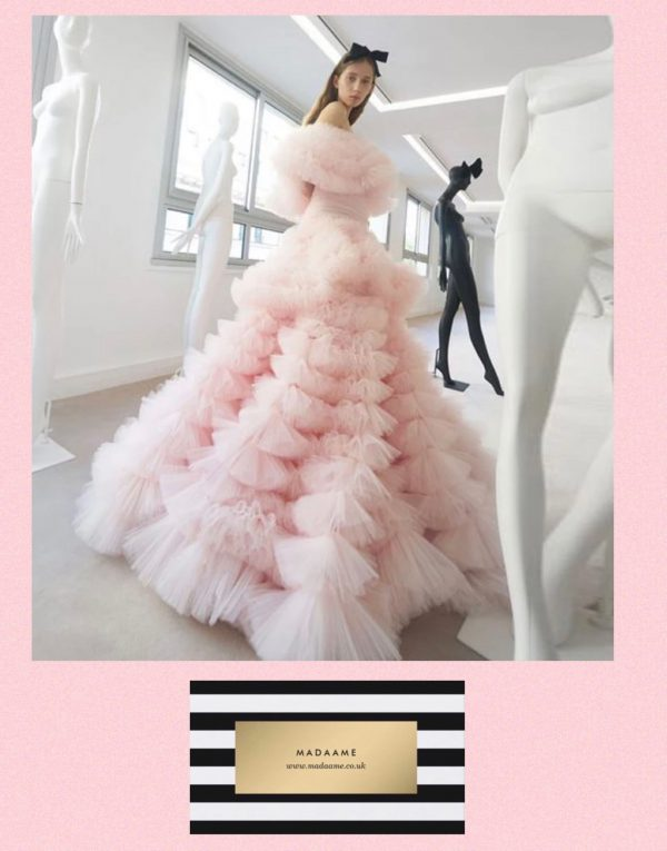 The Swan Pageant Gown