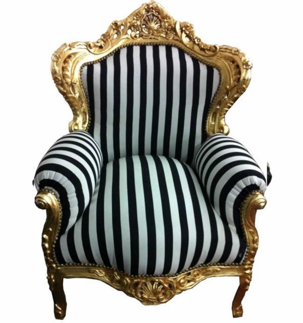 "Baroque Chaise ""King"" Armchair"