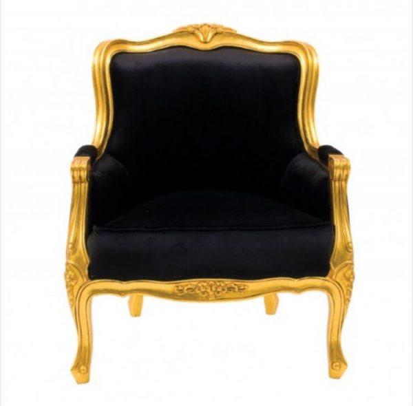 Chateau Gold Leaf Armchair
