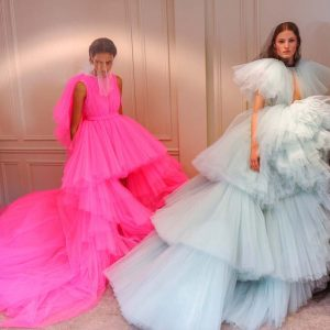 Haute Tulle Couture Gown Prom Dress