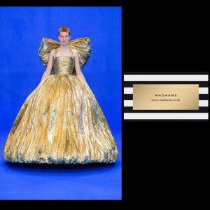 Metallic Fairy Golden Gown