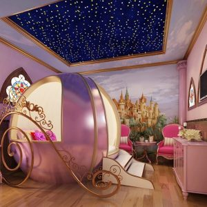 Princess Carriage Children's Bed