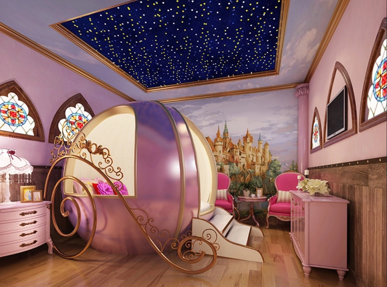 Picture of: Princess Carriage Children S Bed For Little Princesses Madaame