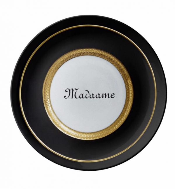 Madaame Branded Decorative Plate for Wall Hanging