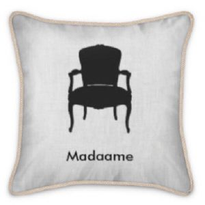 Madaame Silk Feathered Pillow