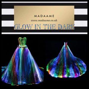 Glow In The Dark Evening Dress