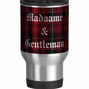 Pride of Wales Tartan Plaid Travel Mug