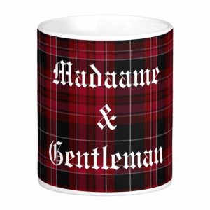 Pride of Wales Tartan Plaid Mug