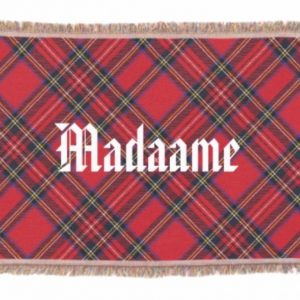 Scotland Tartan Plaid Throw Blanket