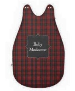 Red Tartan Baby's Sleeping Bag