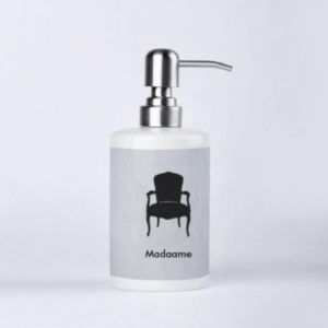 Madaame Porcelain Soap Dispenser