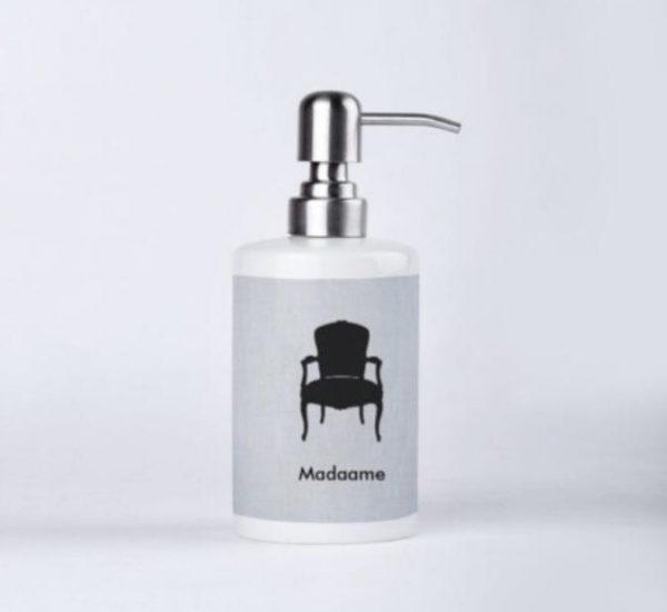 Madaame Porcelain Soap Dispenser