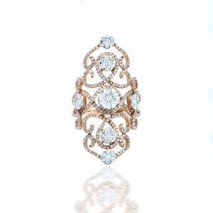 Cultivated Diamond Ring