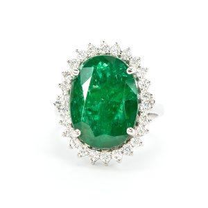 Princess Diana Setting Diamond Ring